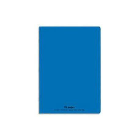 CAHIER PIQURE A4 96P BLEU 18137
