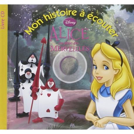 ALICE AU PAYS DES MERVEILLES LIVRES+CD