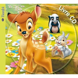 Bambi, livre cd