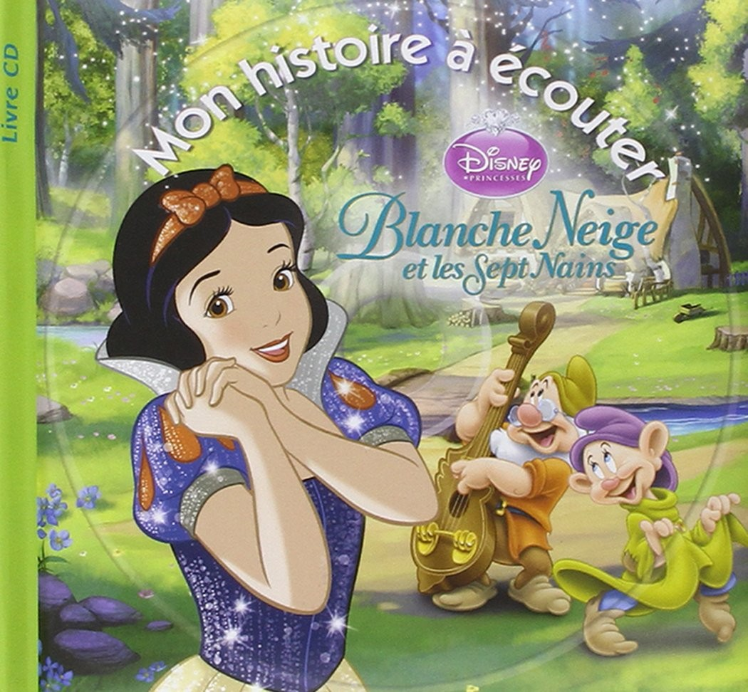 Blanche Neige 1cd Audio