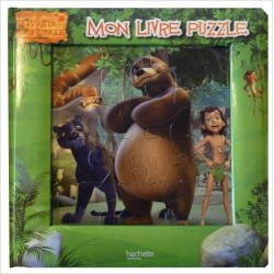 Livre Puzzle Le livre de la jungle