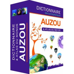 Dictionnaire encyclopedique auzou & atlas du monde