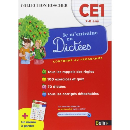 boscher dictees ce 1