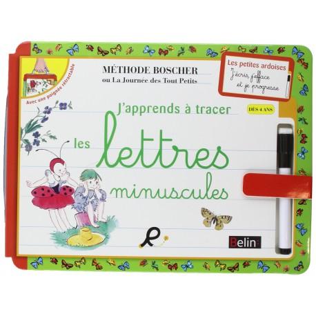 j'apprends a tracer les lettres miniscules