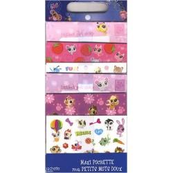 Maxi pochettes pour petits mots doux Littlest PetShop