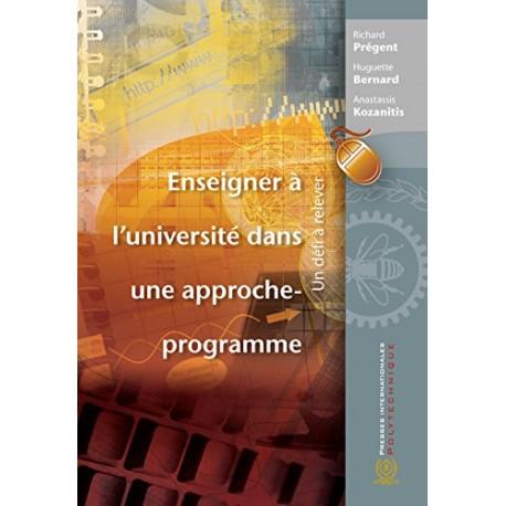 Enseigner à l'université dans une approche-programme: Un défi à relever