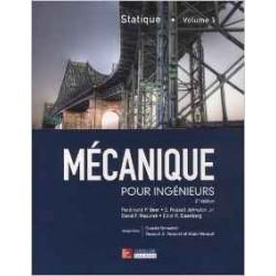 Mécanique pour ingénieurs : Tome 1, Statique