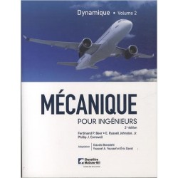 Mécanique pour ingénieurs : Tome 2, Dynamique