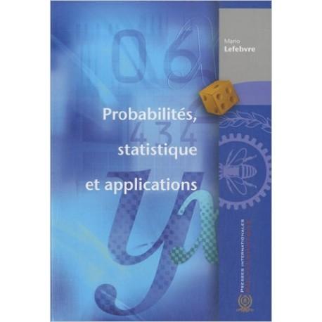 Probabilités, statistique et applications