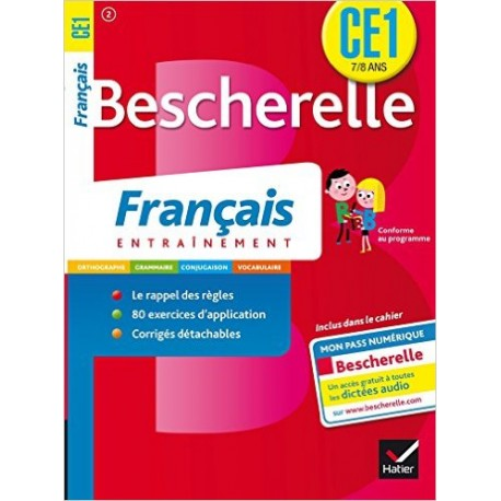 BESCHERELLE CAHIER FRANCAIS CE1