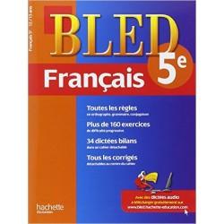 Bled cahier de Francais 5 e