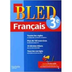 Bled cahier de Francais 3 e