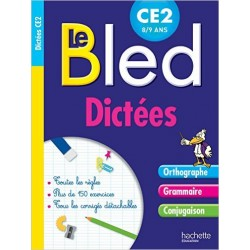 Bled cahier dictées CE2