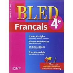 Bled cahier de Français 4 e