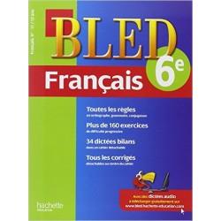 Bled cahier de Français 6 e