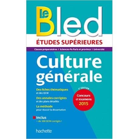 BLED SUP CULTURE GENERALE