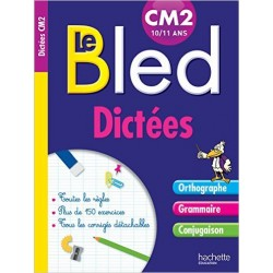 Cahier Bled Dictées CM2