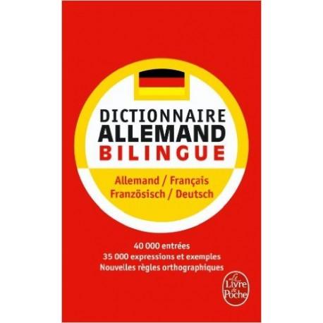 DICTIONNAIRE ALLEMAND BILINGUE / HACHETTE DE POCHE