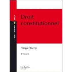 Les fondamentaux du Droit Constitutionnel