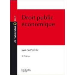 Les fondamentaux Droit Public Economique