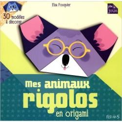 Mes animaux rigolos en origami : 30 modèles à décorer