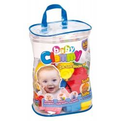 Clementoni Clemmy Baby - Sac Souple - 24 Pièces