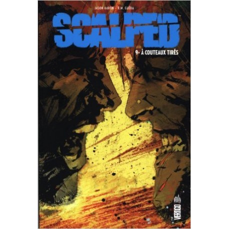 SCALPED TOME 9 SOUPLE A COUTAUX TIRES