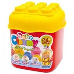 Clementoni Jouet De Premier Age - Baby Clemmy - Cubes 20 Pièces