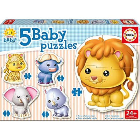 BABY PUZZLES GRANDS ANIMAUX