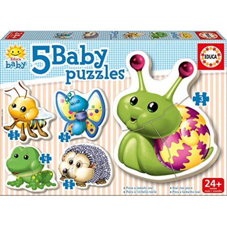 BABY PUZZLES ANIMALES BOSQUE