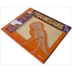 Tyrannosaure : Un livret et un squelette à monter