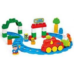 Clementoni - 14928.5 - Jeu De Construction - Clemmy Plus - Train Sonore