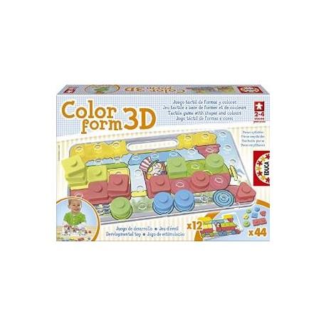 COLOR FORM 3D 2-4 MOIS 15498