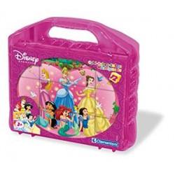 Clementoni - 41142 - Puzzles Cubes 12 Pièces - Princesses
