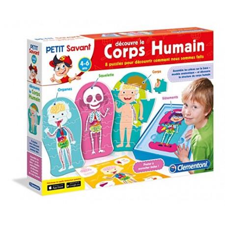 DECOUVRE LE CORPS HUMAIN 5 ANS