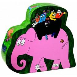 Dujardin - 62205 - Puzzle Safari Eléphant - 36 Pièces