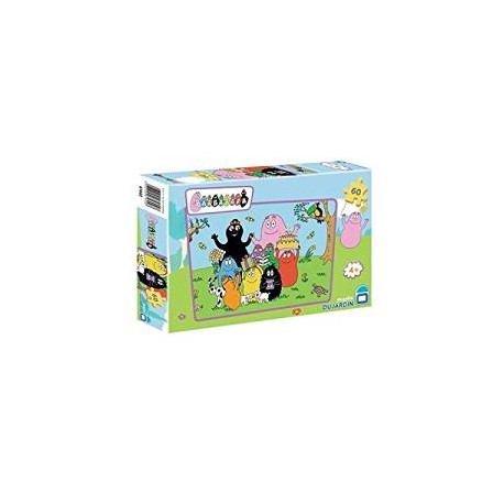 BARBAPAPA PUZZLES 60 PIECES + 4 ANS