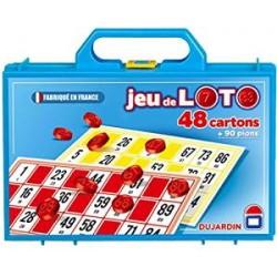 Dujardin - 148 - Jeu de Société - Grand Classique - Loto 48 Cartons