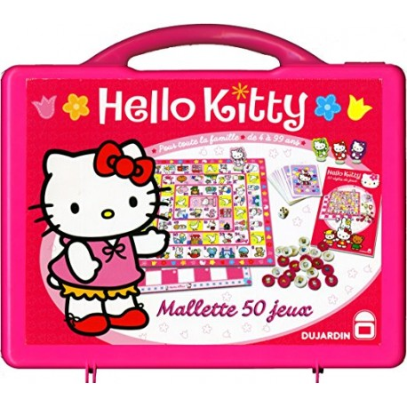 MALLETE 50 JEUX HELLO KITTY