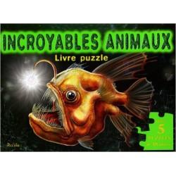 Incroyables animaux : Livre puzzle