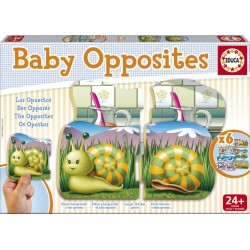 Educa - 15863 - Jeu Educatif - Baby Opposites