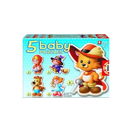 5 BABY PUZZLES / ANIMAUX