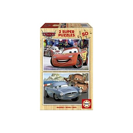 CARS PUZZLES 2X50