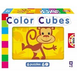 Educa Borras - 14576 - Jeu de Société Educatif - Les Insectes - 6 Cubes