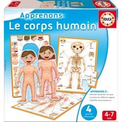 Clementoni - 52169.2 - Le corps humain
