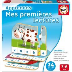 Educa - 13585 - Jeu Educatif - Premieres Lectures - Petit Lynx Educatif + 4 ANS