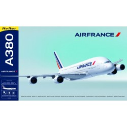 Heller - 52908 - Maquette - Avion - A380 Air France - Echelle 1/125