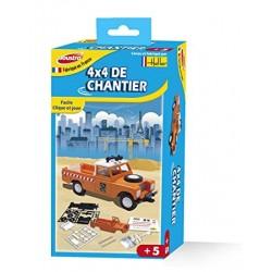 Joustra - 40001 - Jeu de Construction - 4 x 4 de Chantier