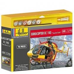 Heller - 50375 - Maquette - Eurocopter EC 145 Sécurité Civile - Echelle 1:72