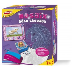 Joustra - 42128 - Loisir Créatif - Mosaix Déco Chevaux - Massicot